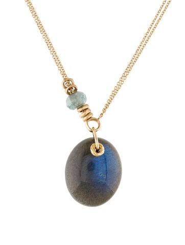 Jamie joseph 14k labradorite pendant necklace necklaces 14k labradorite pendant necklace mozeypictures Image collections