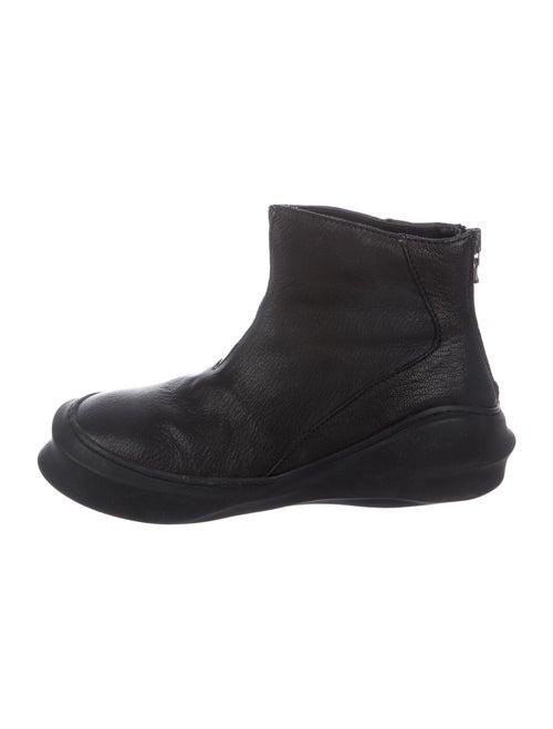 Julius Leather Boots Black