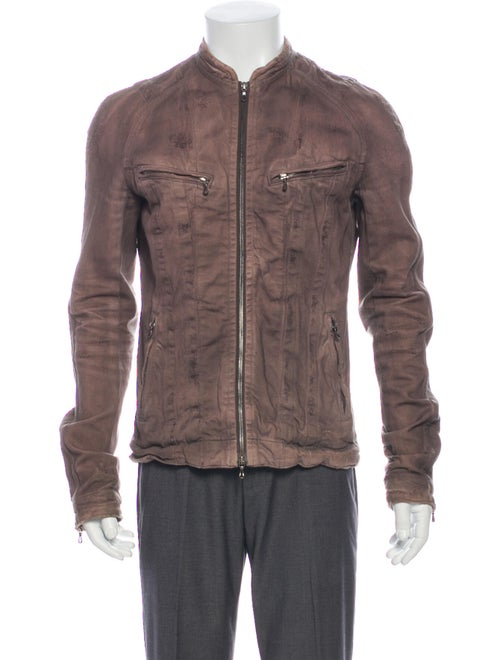 Julius Moto Jacket Grey