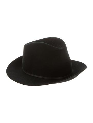 Janessa Leone Felt Fedora Hat