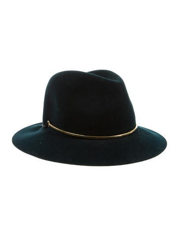 Janessa Leone Wool Felt Hat - Accessories - JLN20243  f30c7aecbb56