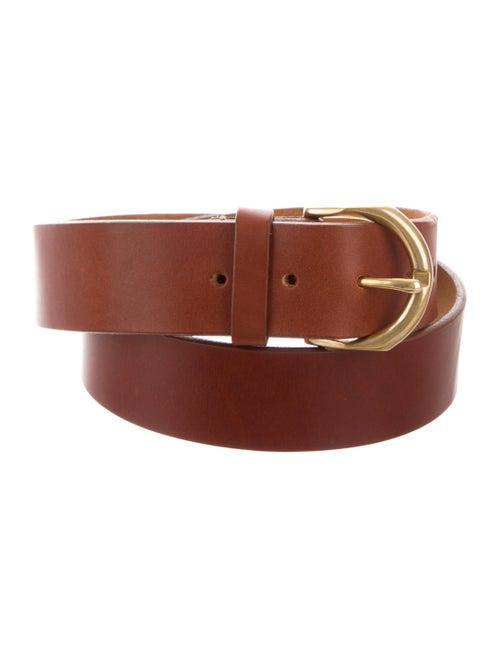 Janessa Leone Leather Belt Gold