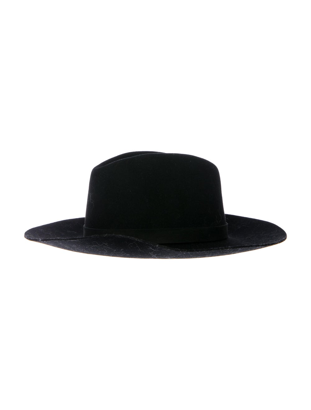 Janessa Leone Wool Felt Hat Black - image 1
