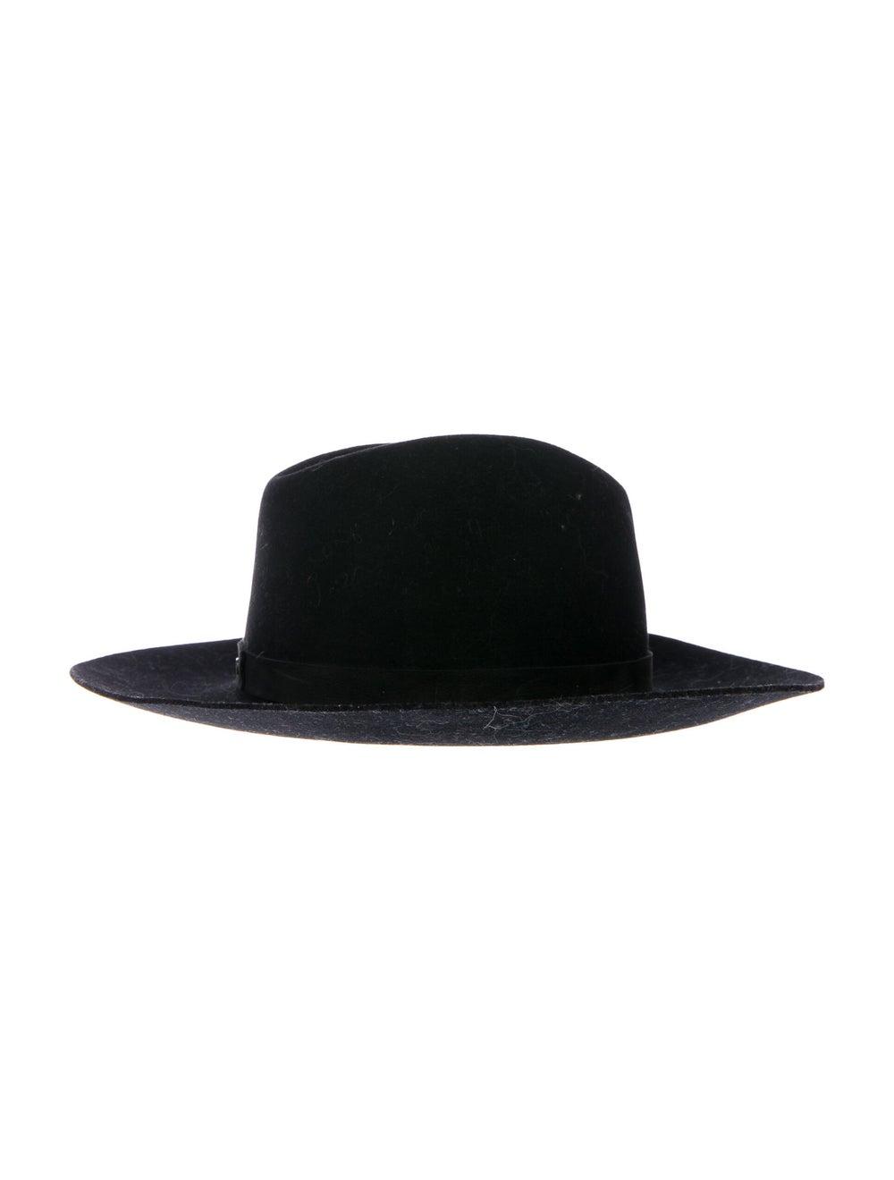 Janessa Leone Wool Felt Hat Black - image 2