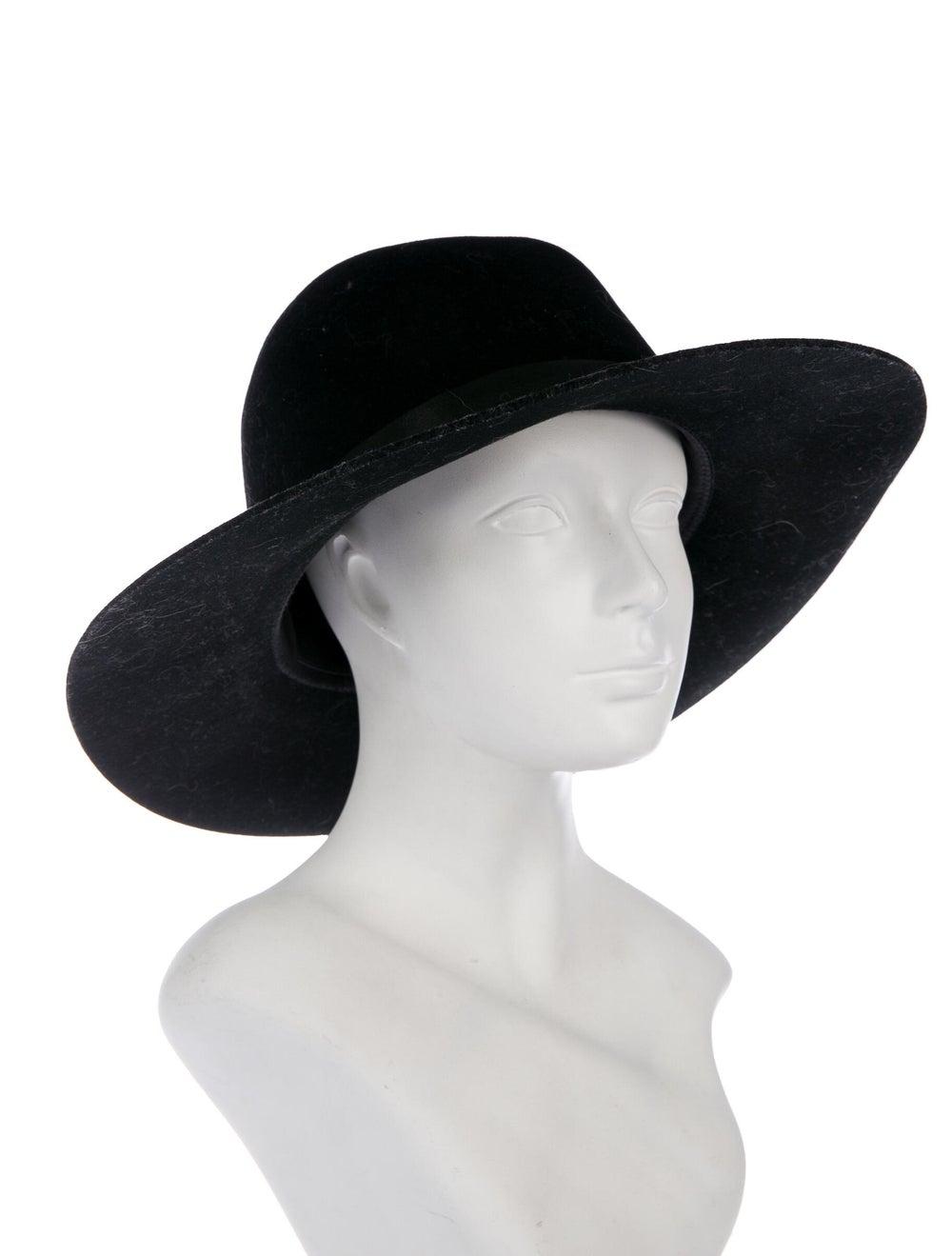 Janessa Leone Wool Felt Hat Black - image 3