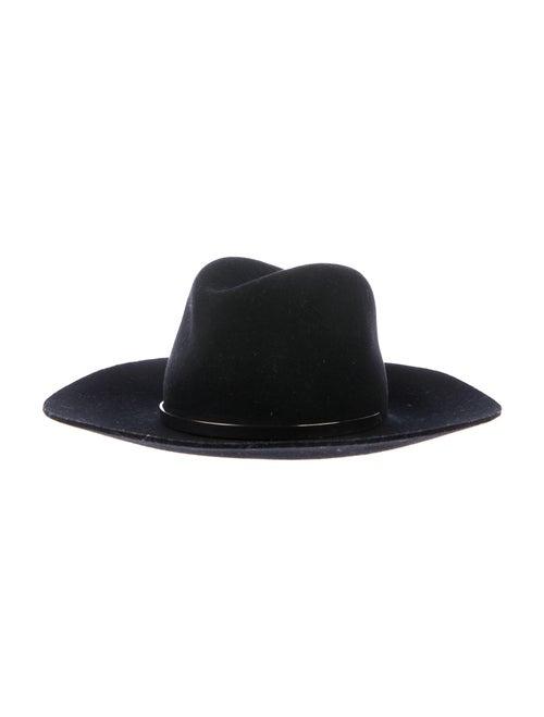 Janessa Leone Janessa Leone Wool Wide Brim Hat Bl… - image 1