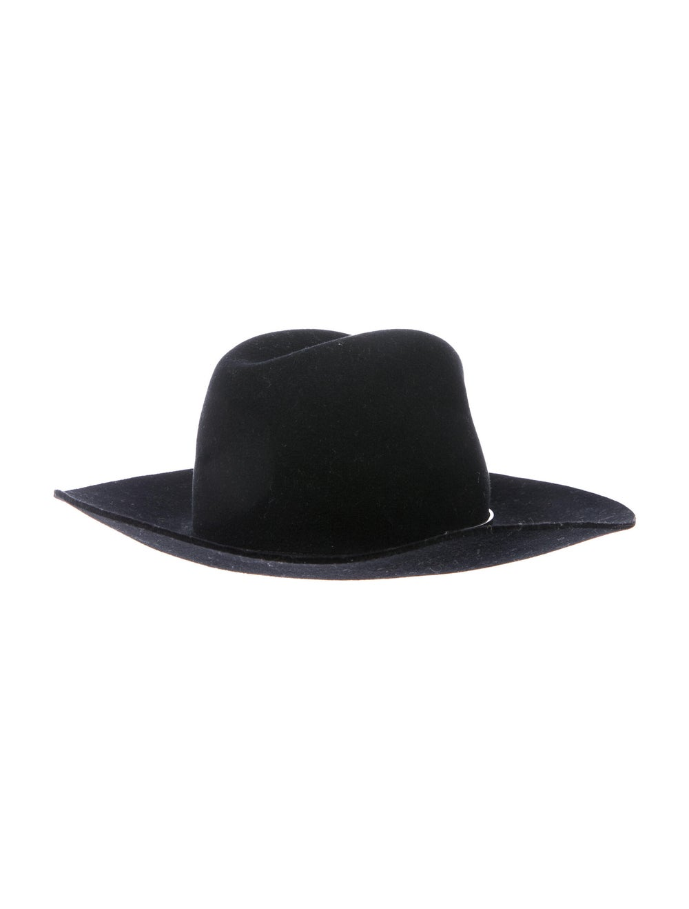 Janessa Leone Janessa Leone Wool Wide Brim Hat Bl… - image 2