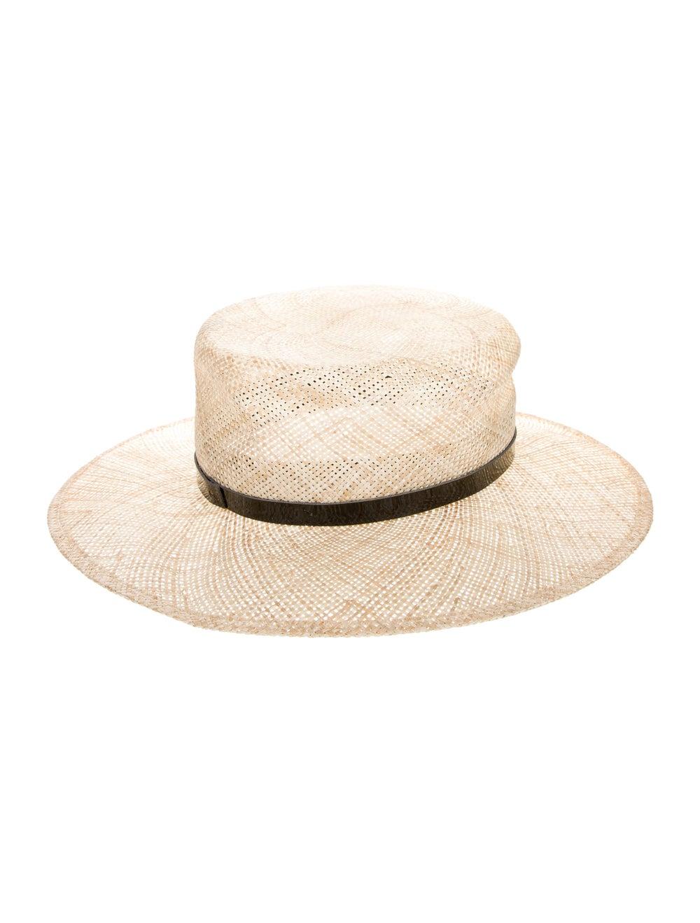 Janessa Leone Straw Hat black - image 2