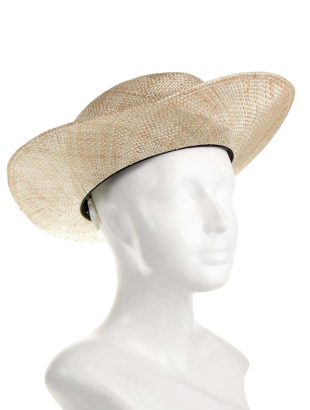 Janessa Leone Straw Hat black - image 3