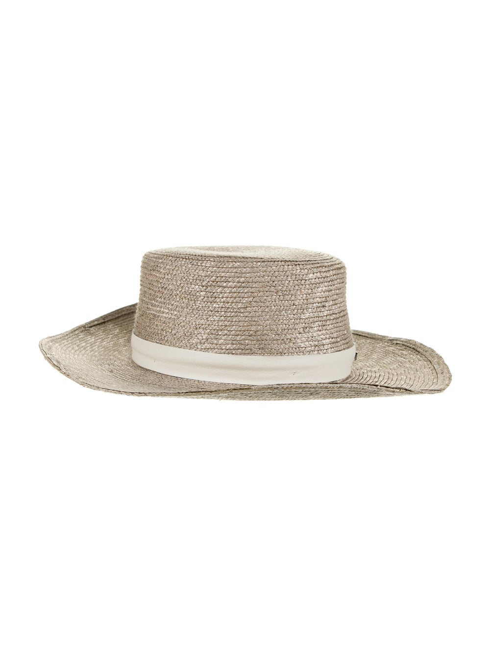 Janessa Leone Straw Sun Hat - image 1