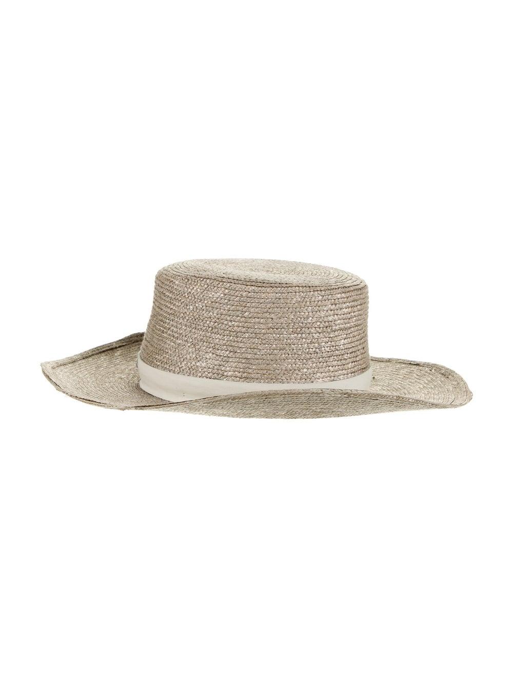 Janessa Leone Straw Sun Hat - image 2
