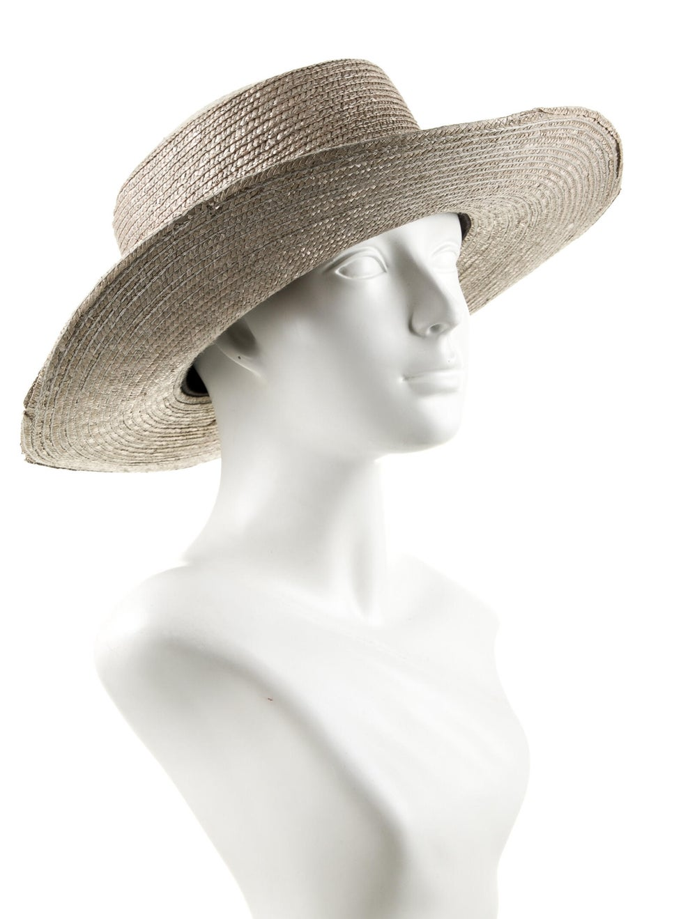 Janessa Leone Straw Sun Hat - image 3