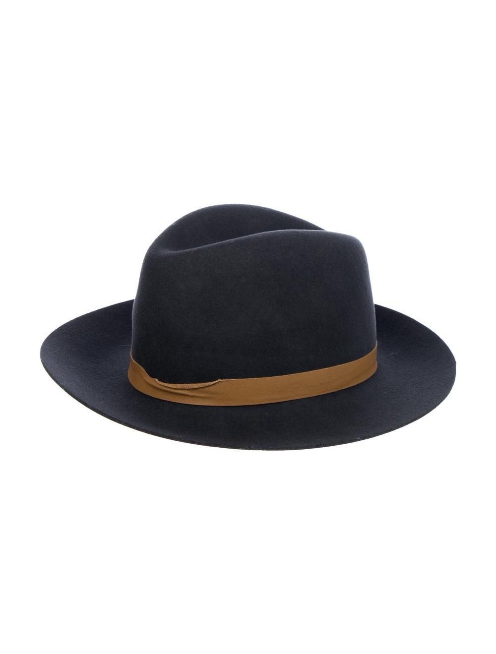 Janessa Leone Wide Brim Hat Grey - image 1