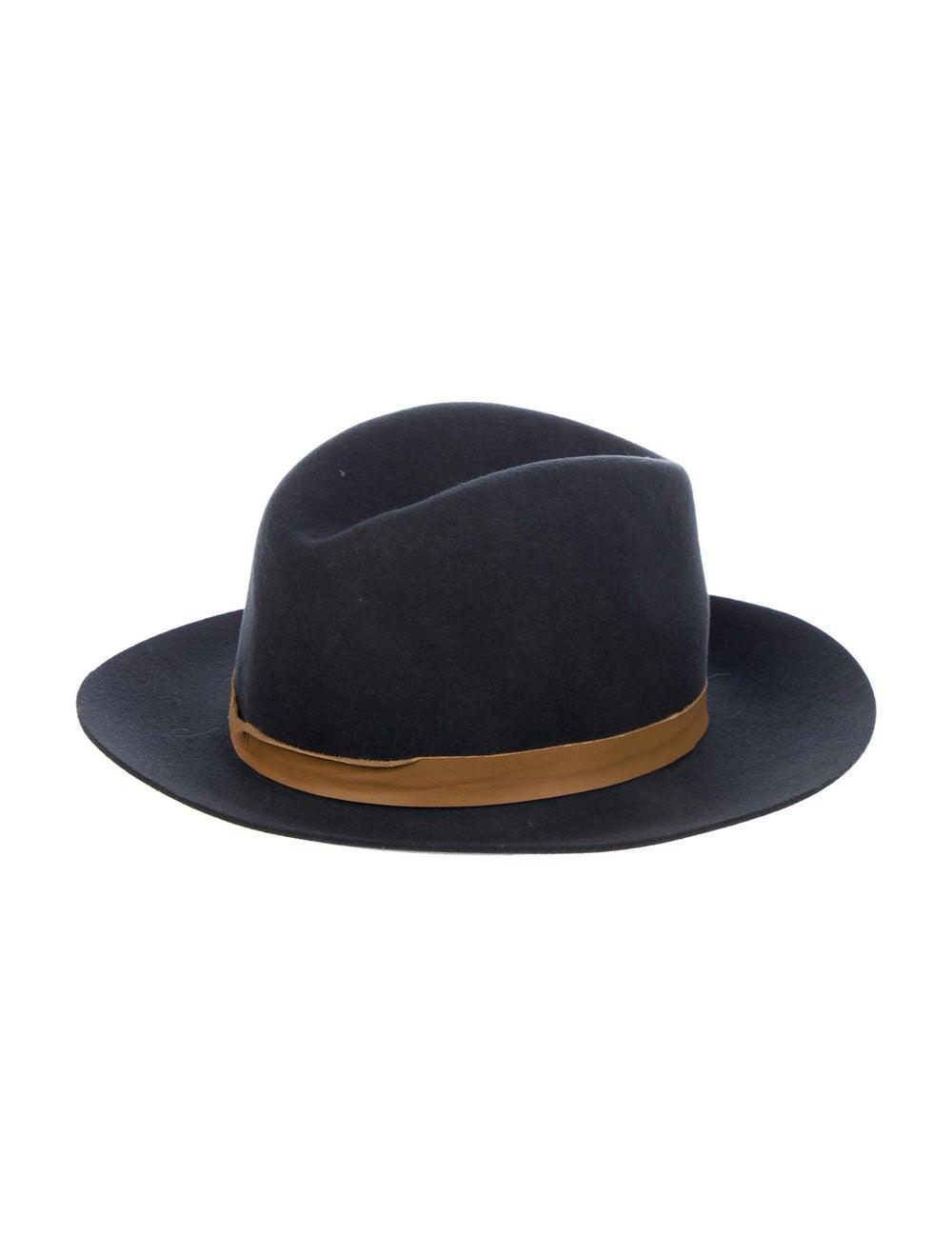 Janessa Leone Wide Brim Hat Grey - image 2