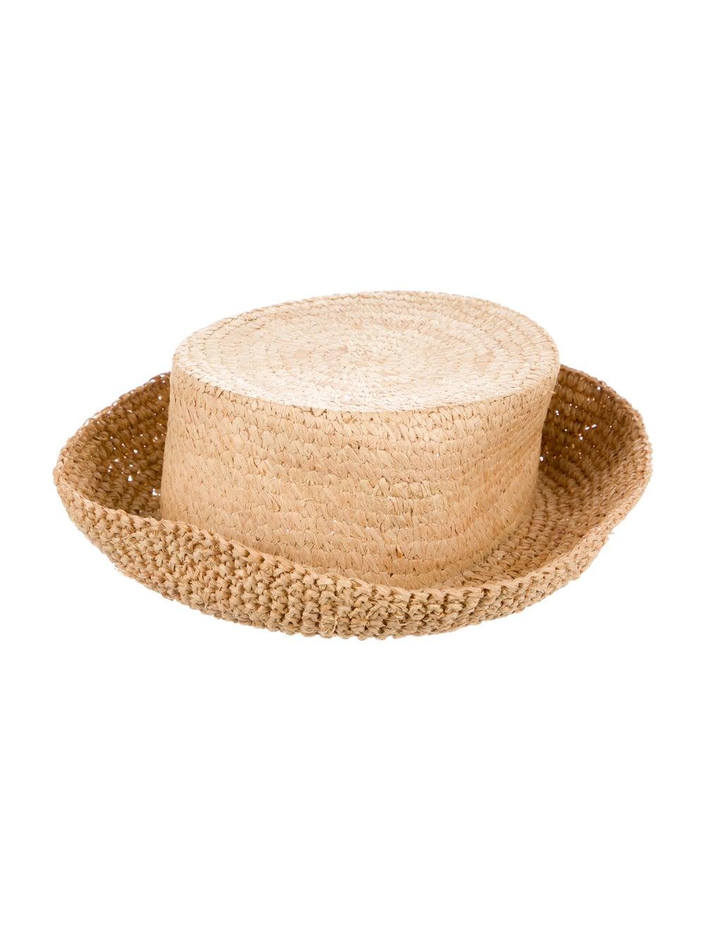 Janessa Leone Yellow Straw Hat yellow - image 2