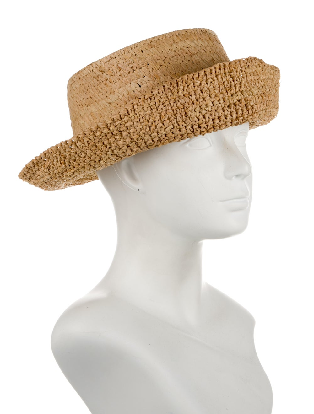 Janessa Leone Yellow Straw Hat yellow - image 3