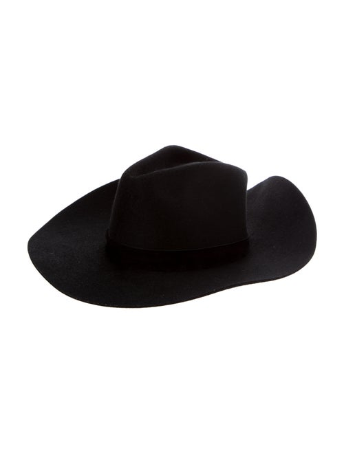 Janessa Leone Wide Brim Hat w/ Tags Black - image 1