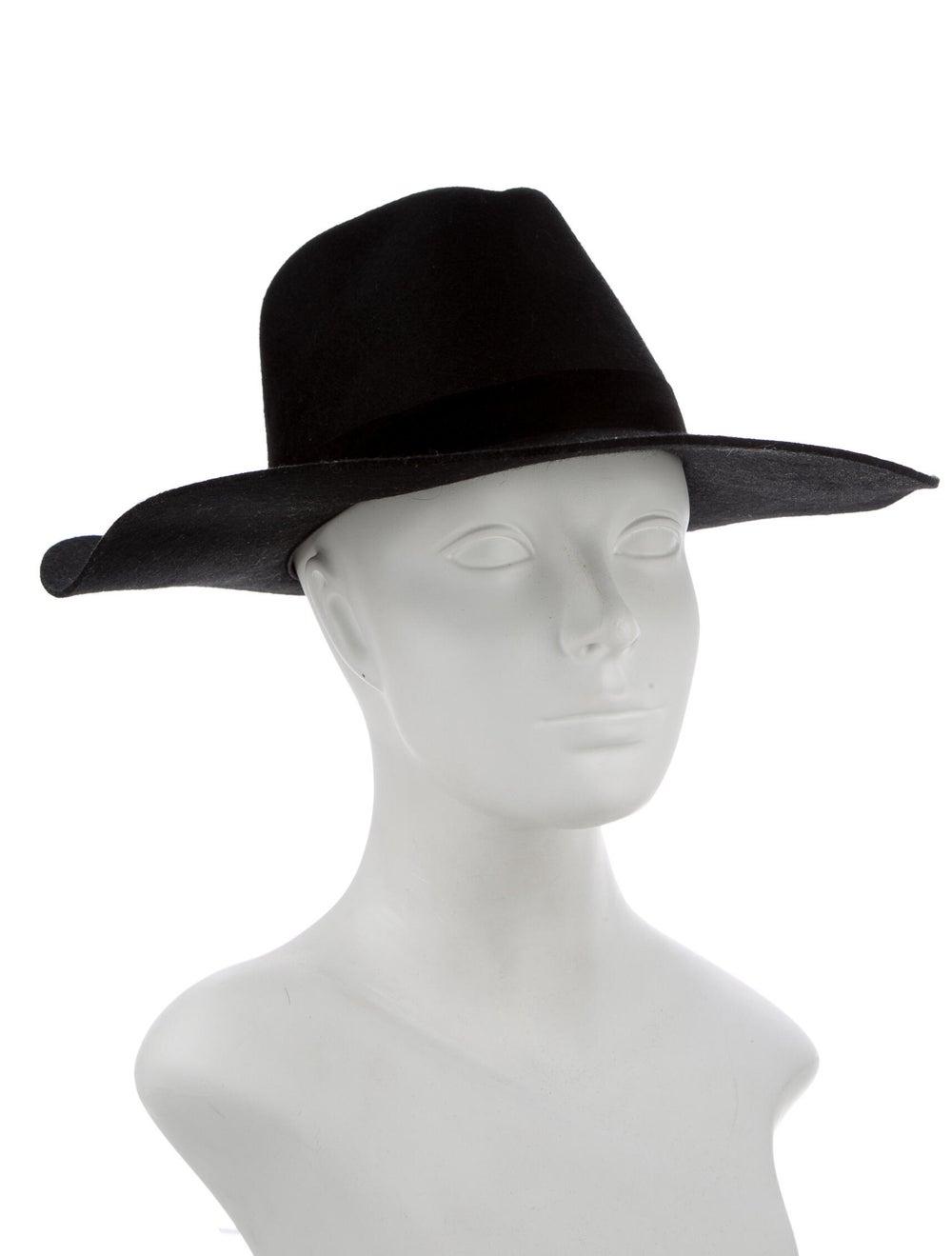 Janessa Leone Wide Brim Hat w/ Tags Black - image 3