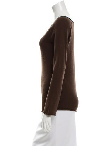Silk Long Sleeve Top