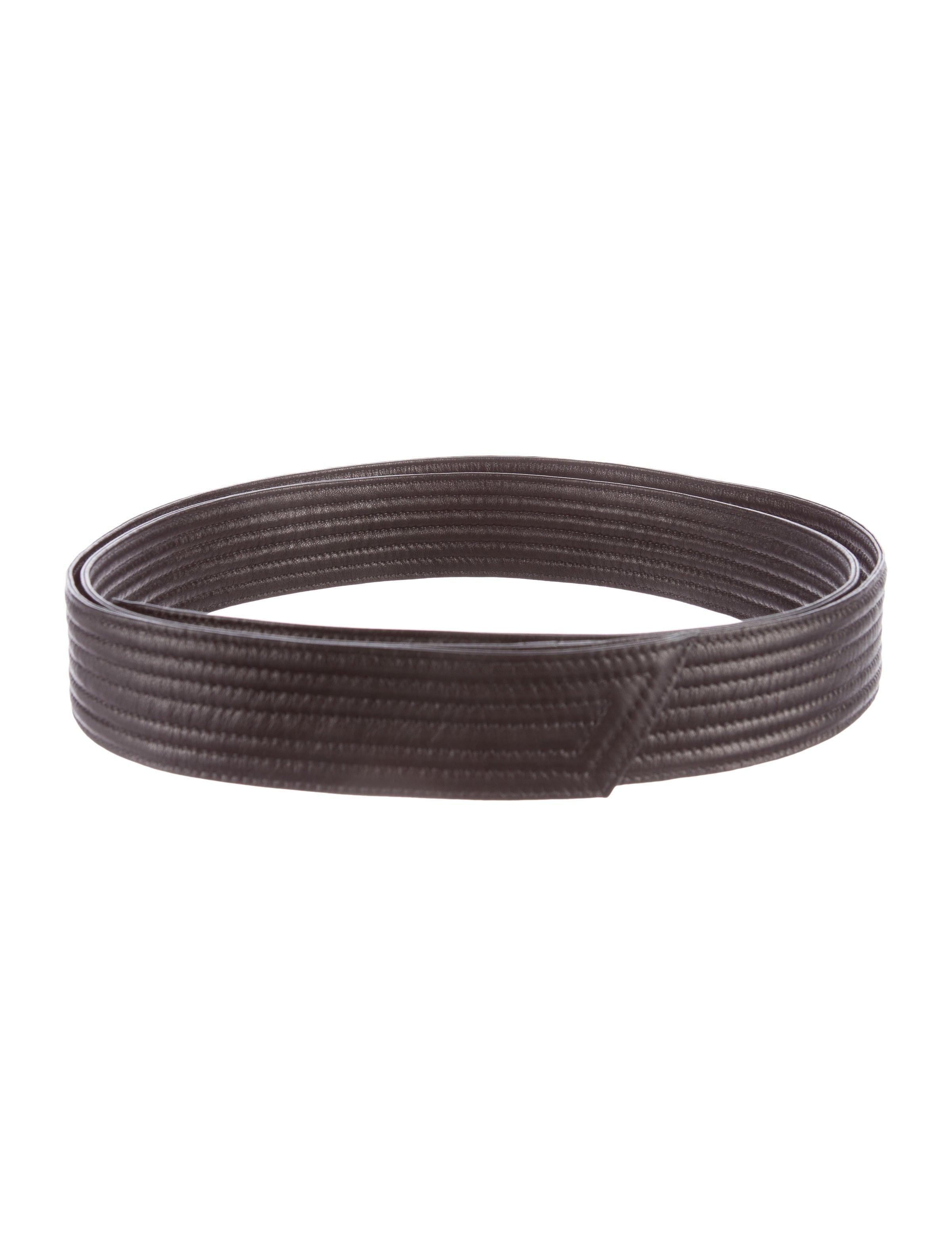 j mendel leather waist tie belt accessories jme22452