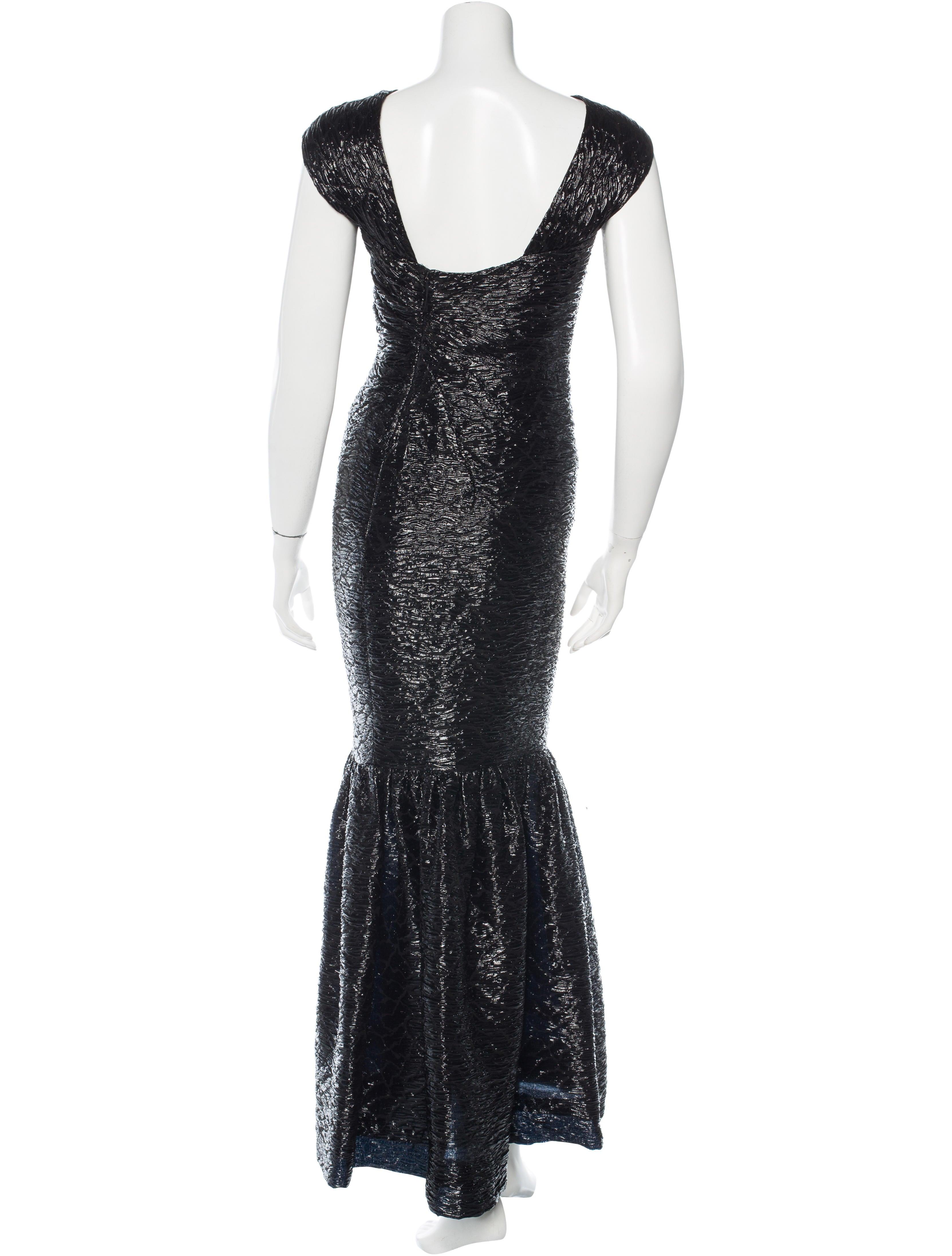 j mendel textured mermaid gown clothing jme22739
