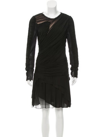 J. Mendel Ruched Tulle Dress w/ Tags None
