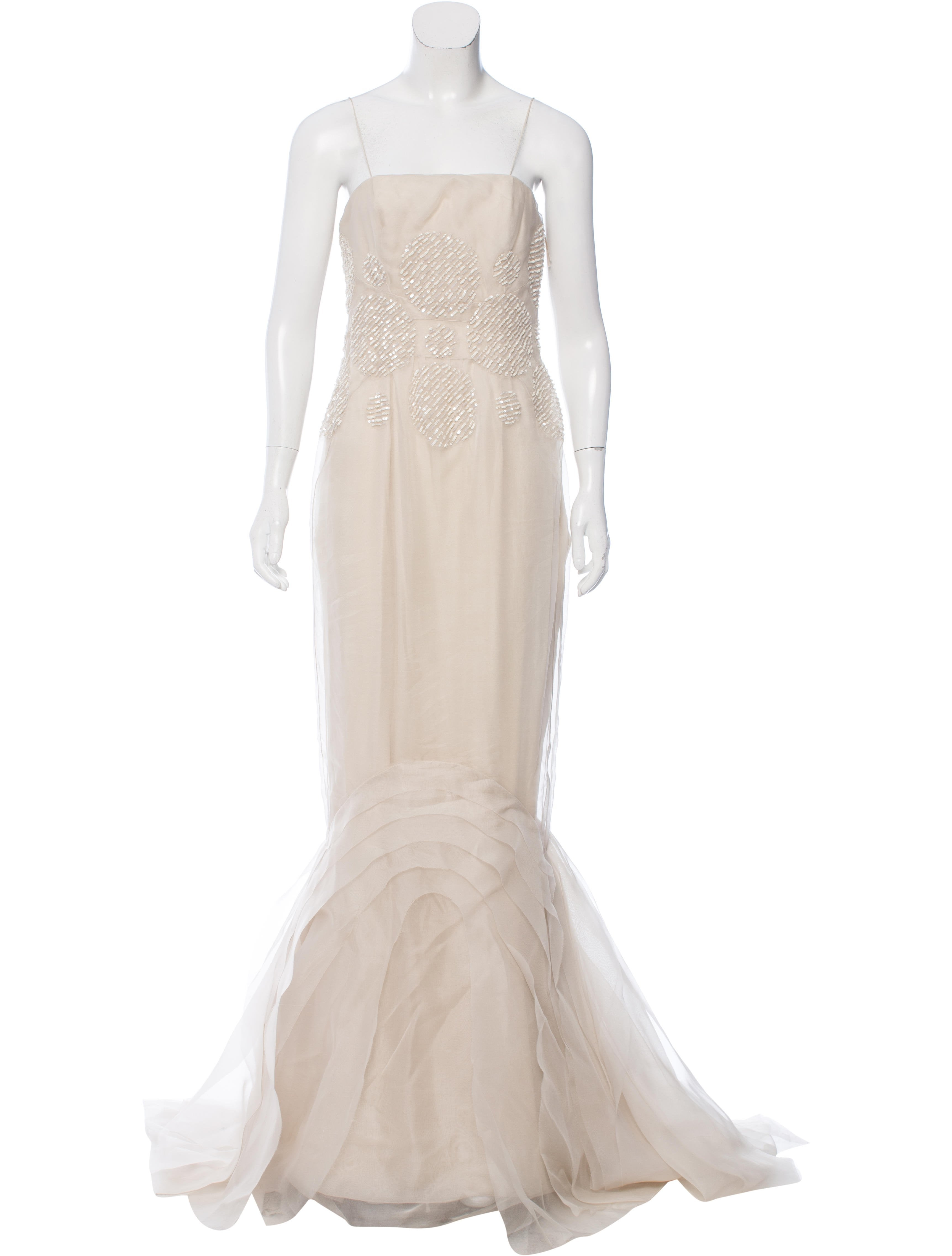 J. Mendel Embellished Evening Dress - Clothing - JME24709 | The RealReal