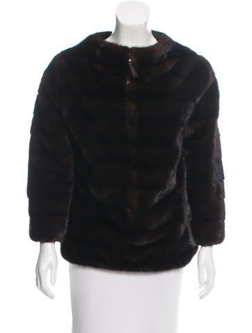 J. Mendel Fur Oversize Top None