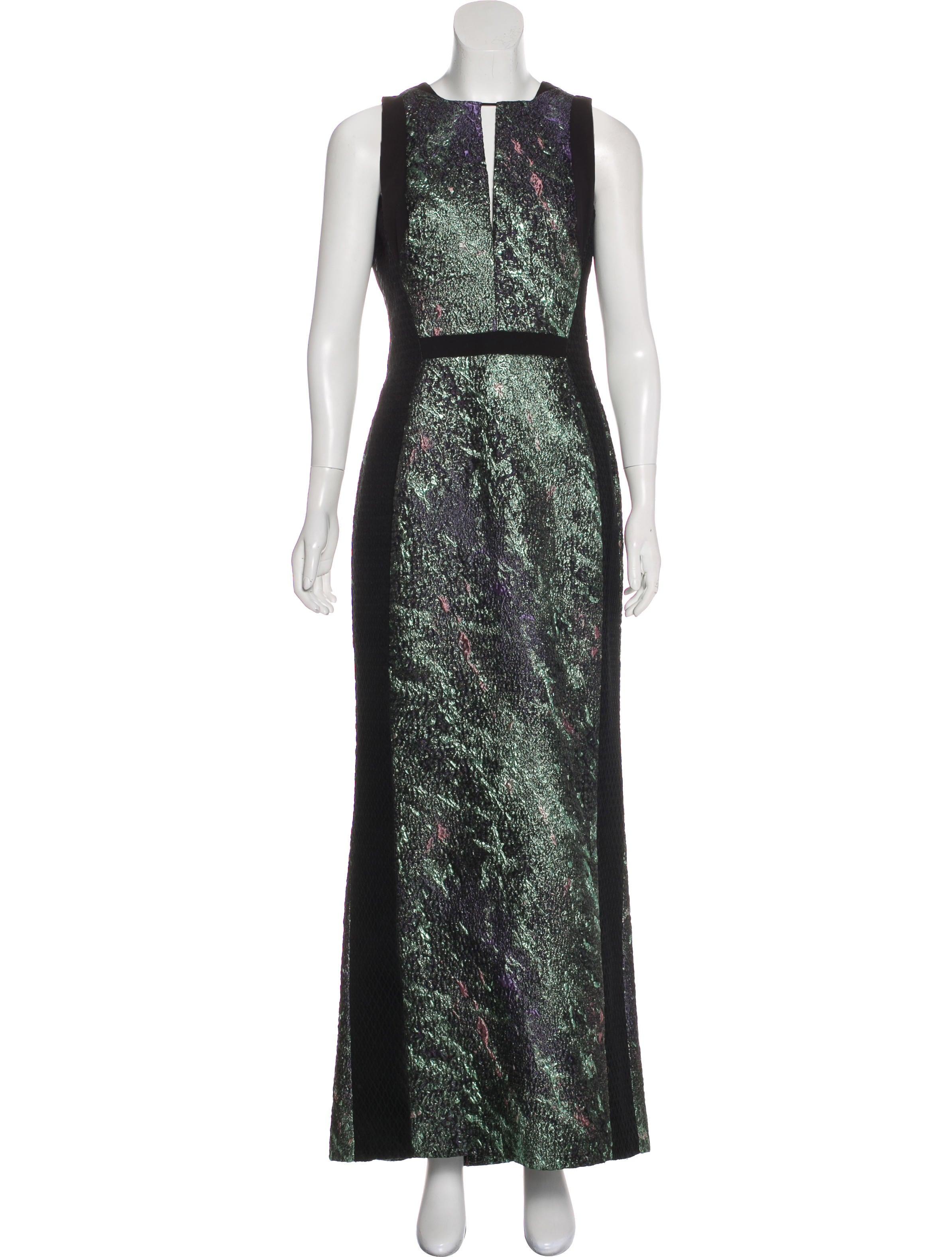 J. Mendel Jacquard Evening Dress - Clothing - JME25416 | The RealReal