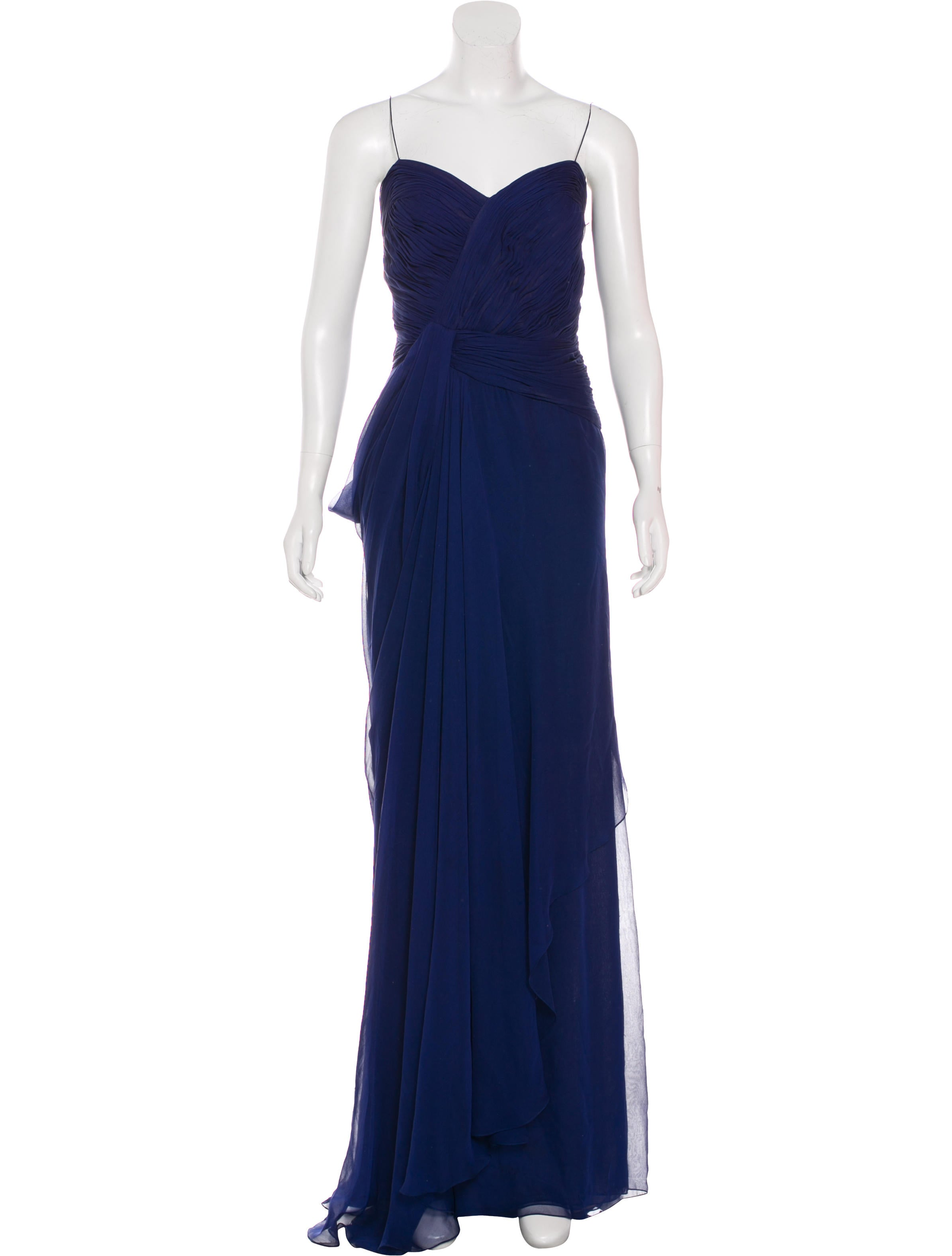 J. Mendel Silk Evening Gown - Clothing - JME25448 | The RealReal