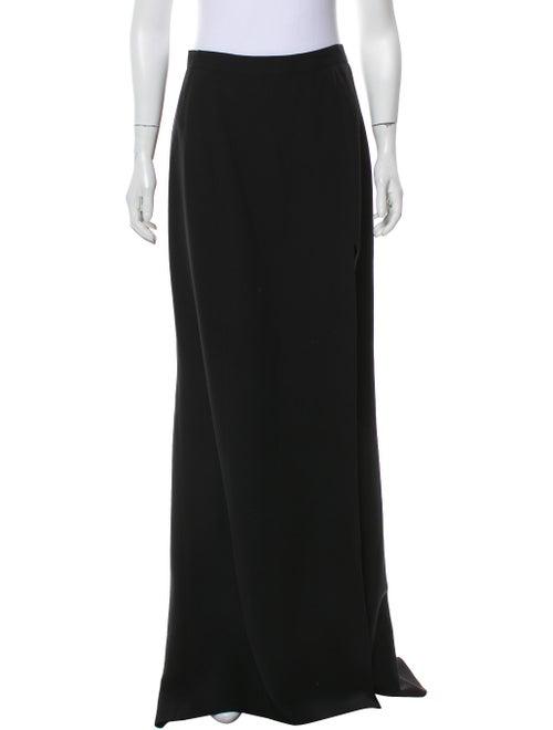 J. Mendel Maxi Evening Skirt Black