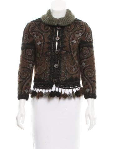 John Galliano Wool & Mohair-Blend Jacket None