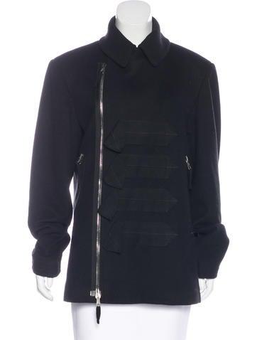 John Galliano Virgin Wool & Cashmere-Blend Jacket None