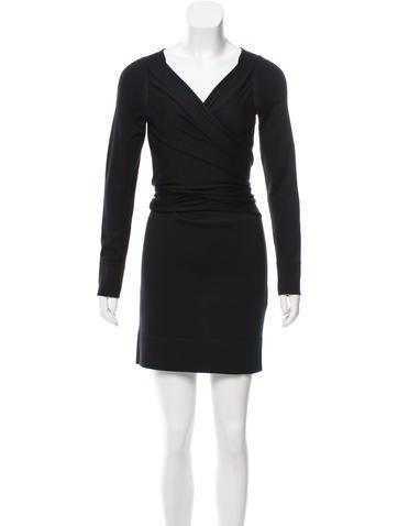 John Galliano Wool Mini Dress None