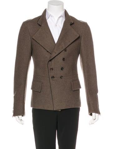 John Galliano Wool Military Blazer None