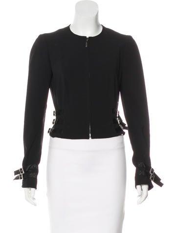 John Galliano Wool Embellished Jacket None