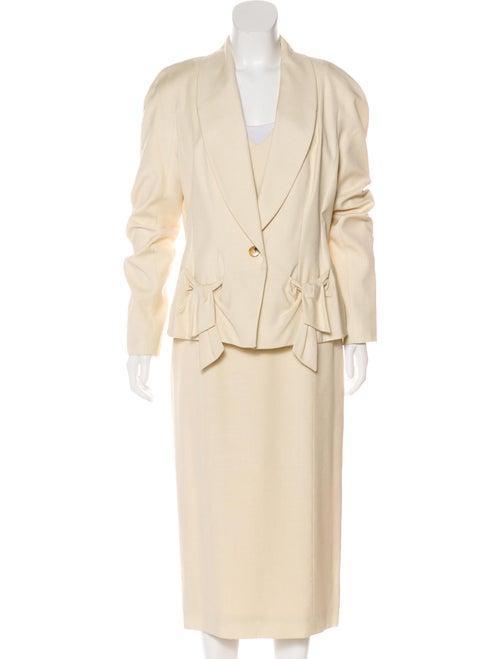 John Galliano Knee-Length Dress Suit
