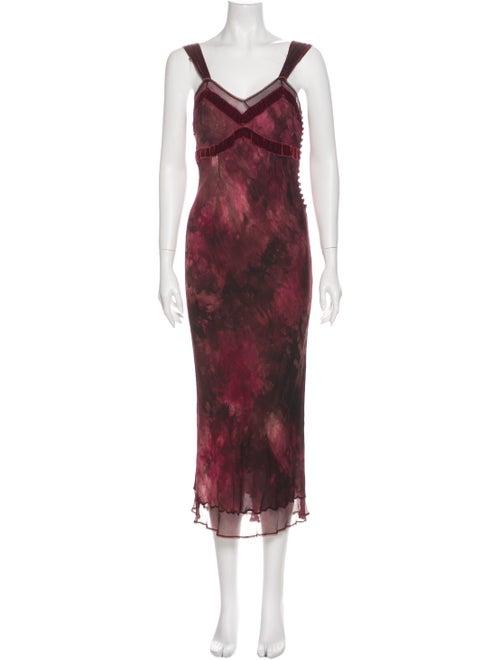 John Galliano Vintage Long Dress