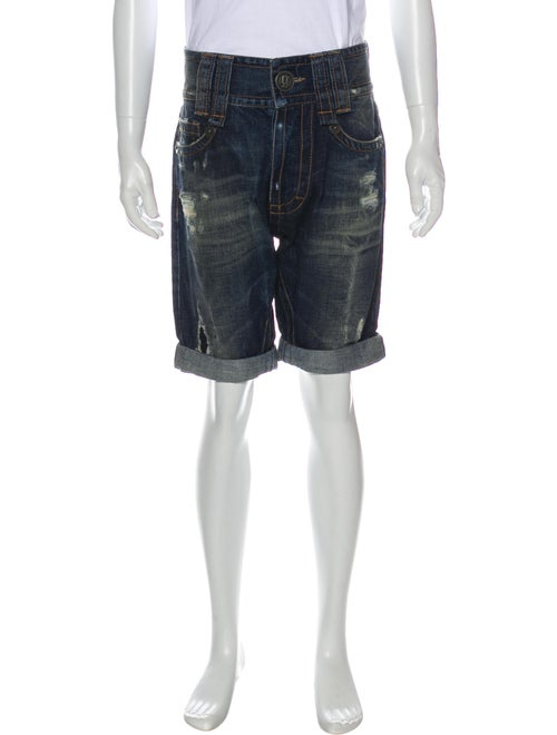 John Galliano Denim Shorts Denim