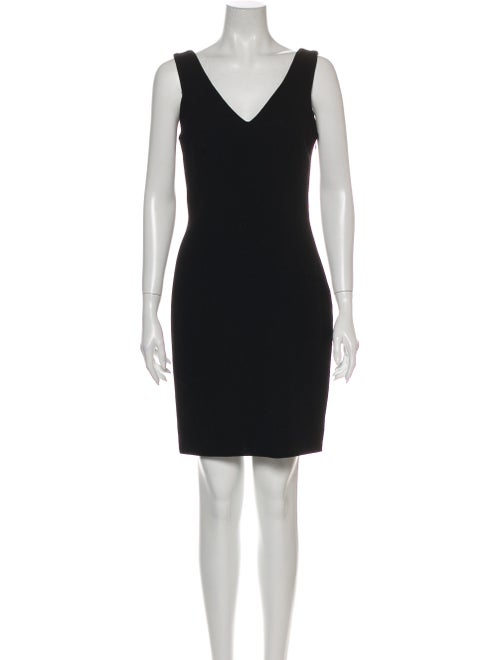 John Galliano Wool Mini Dress Wool