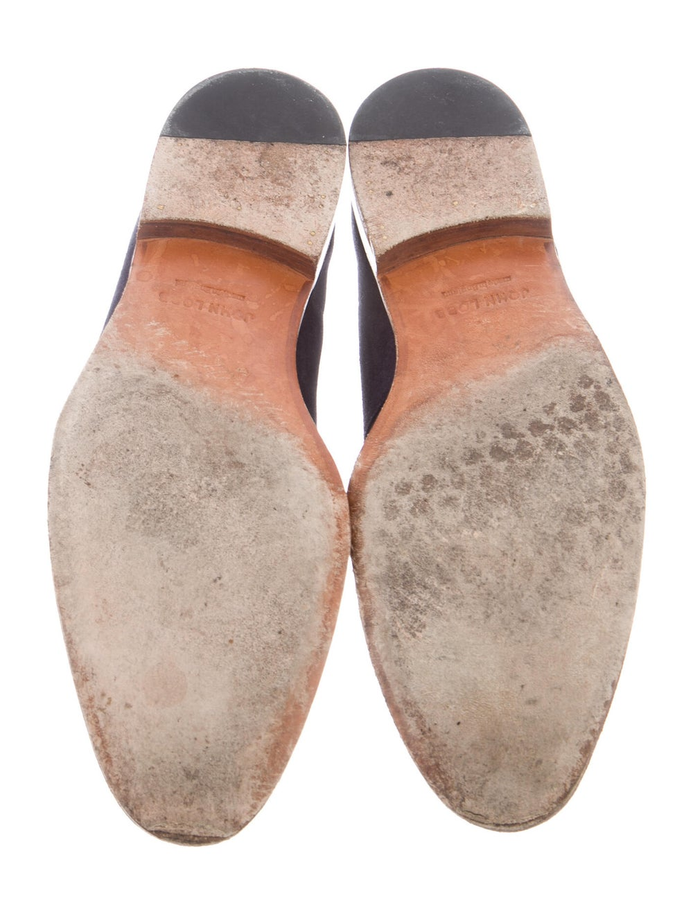 John Lobb Suede Derby Shoes Blue - image 5