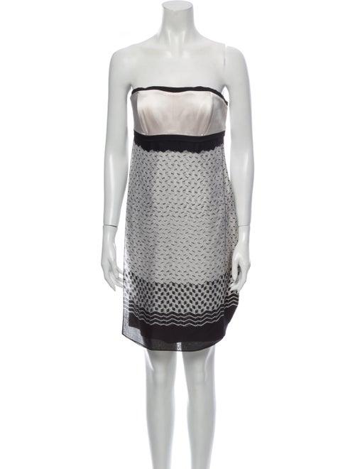 Jonathan Saunders Silk Mini Dress