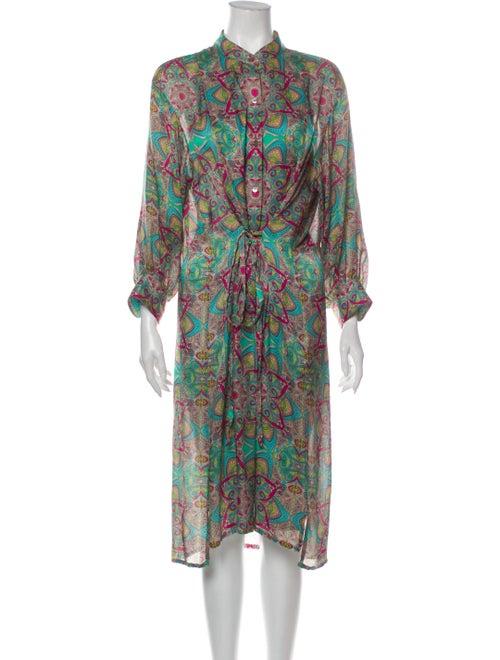Jonathan Saunders Silk Midi Length Dress