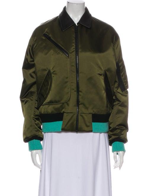 Jonathan Saunders Bomber Jacket Green