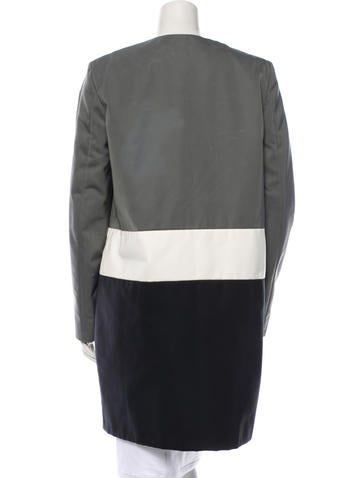Colorblock Coat w/ Tags