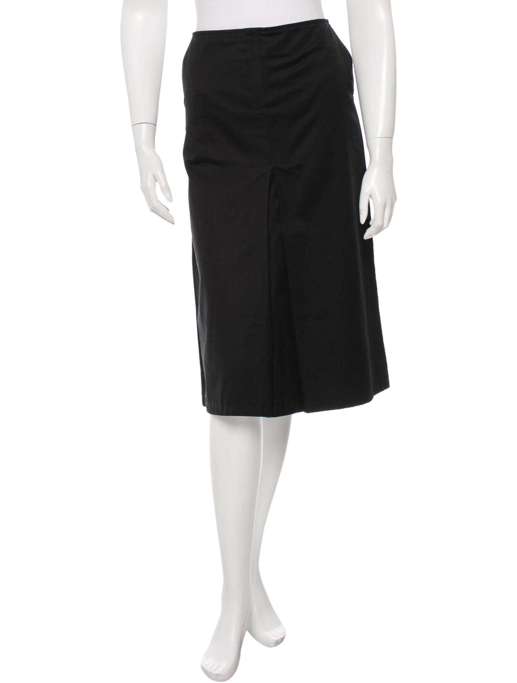 Joseph Low Rise Midi Skirt Clothing Jos22218 The Realreal