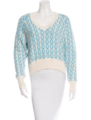 Joseph High-Low Knit Sweater None