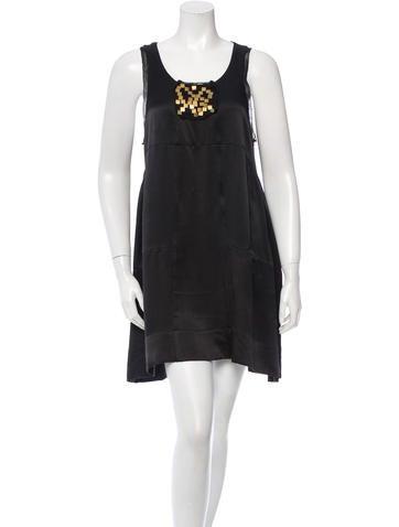Joseph Silk Sleeveless Dress None