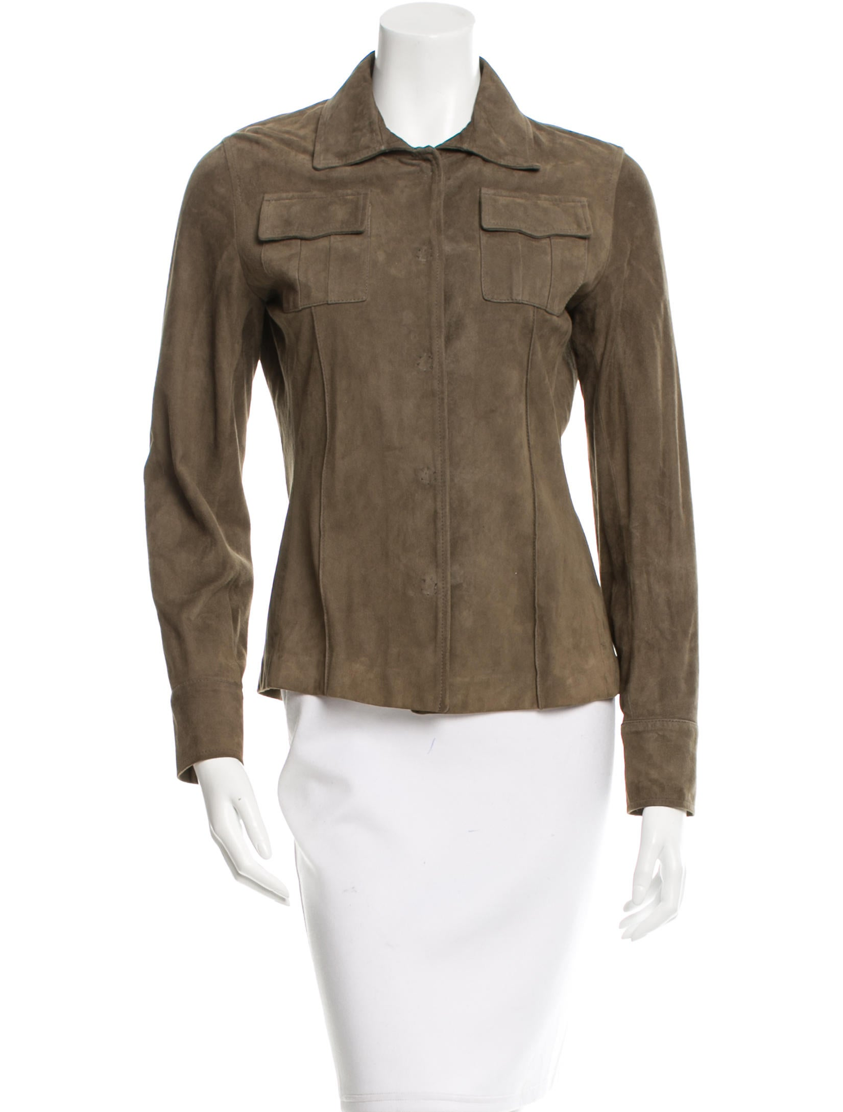 joseph suede collared jacket clothing jos22832 the