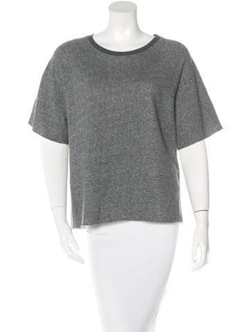 Joseph Knit Short Sleeve Top None